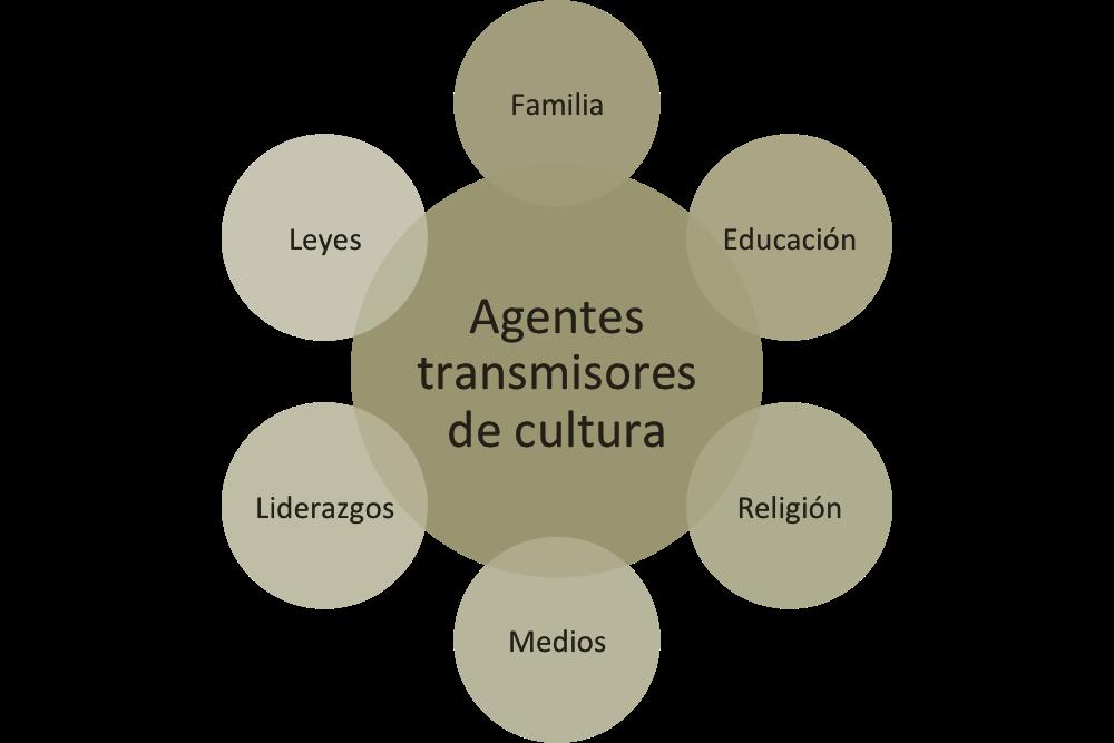Agentes transmisores cultura